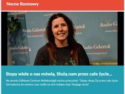 Iza Milczarek w Radio Gdańsk