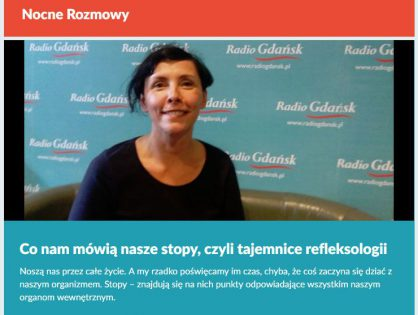 """Wywiad Izy w Radio Gdańsk – """"Nocne Rozmowy"""""""