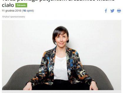O refleksologii w Trojmiasto.pl – wywiad z Izą Milczarek