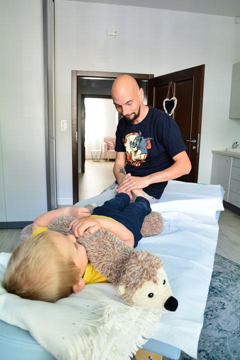 masaż dziecka shantala